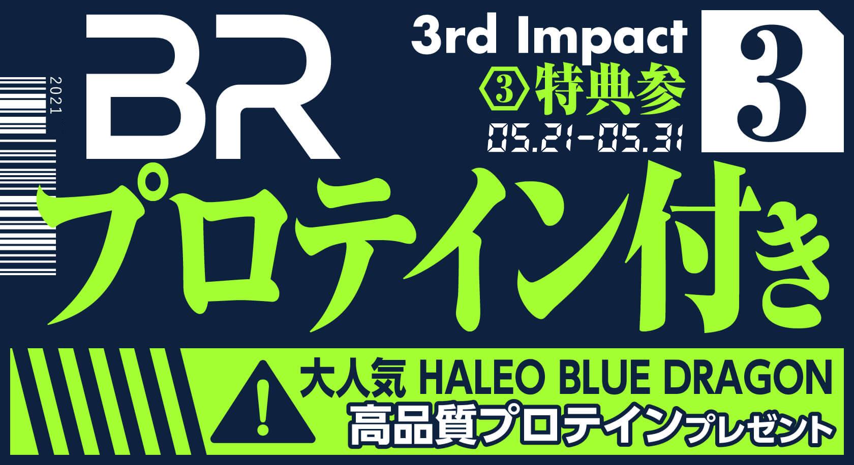 特典3 プロテイン付き 大人気 HALEO BLUE DRAGON 高品質プロテインプレゼント